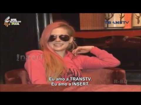 Avril Lavigne - Interviews 2014 - TRANSTV [LEGENDADO]