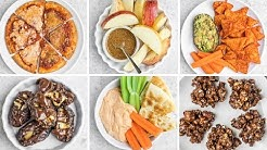 Easy 3-Ingredient Vegan Snacks for After School/Work