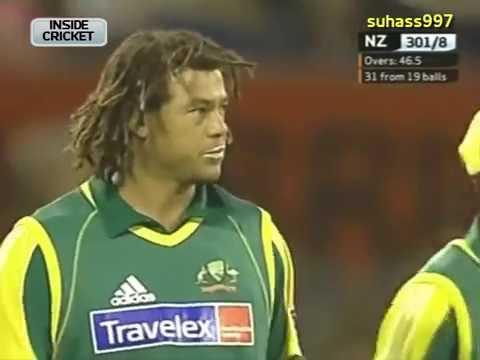 Brendon McCullum Magic - Smashes 50 off 25 balls against Australia