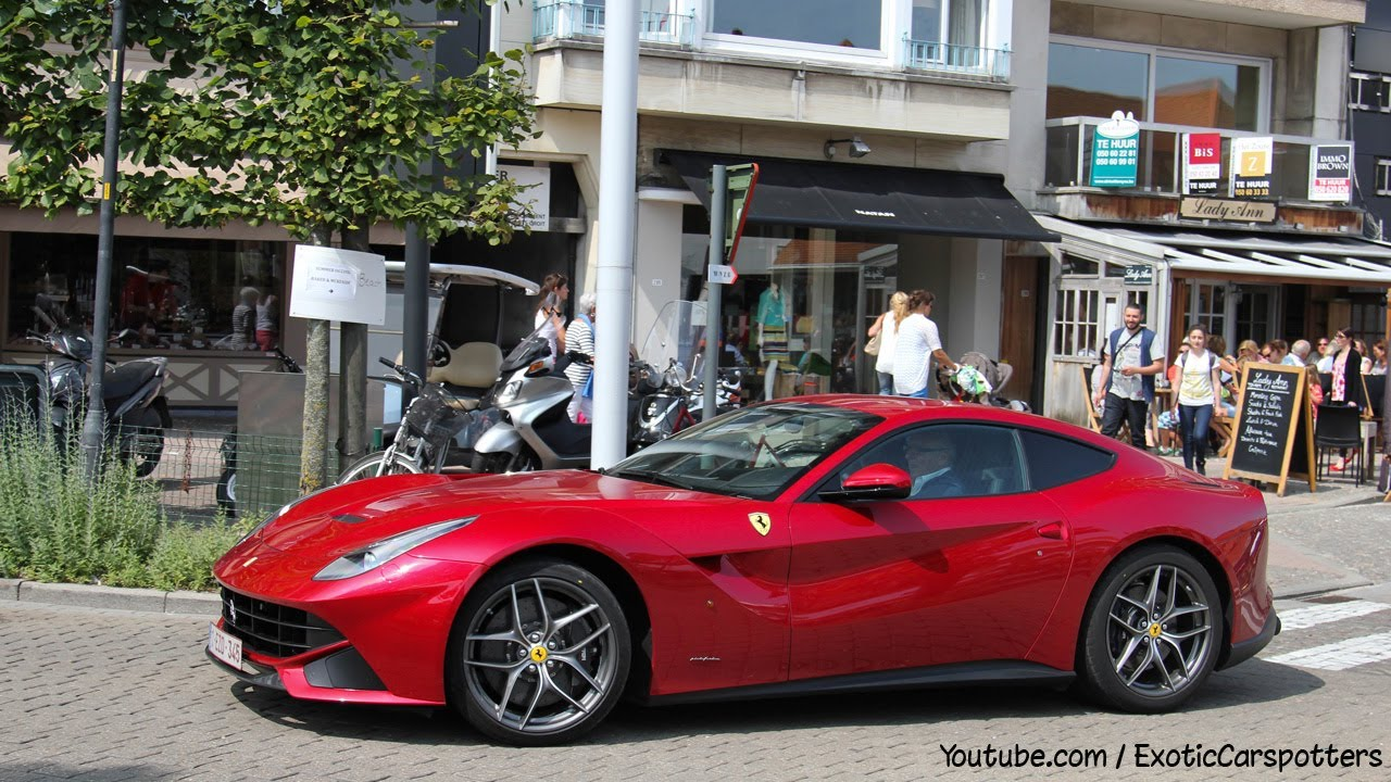 One Day In Knokke Heist F12 Berlinetta Aventador Rs5 Cabriolet 1080p Hd You