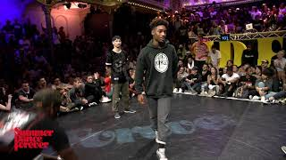 Maximus vs Lil' Blade 1st ROUND BATTLES Hiphop Forever - Summer Dance Forever 2017 - Stafaband