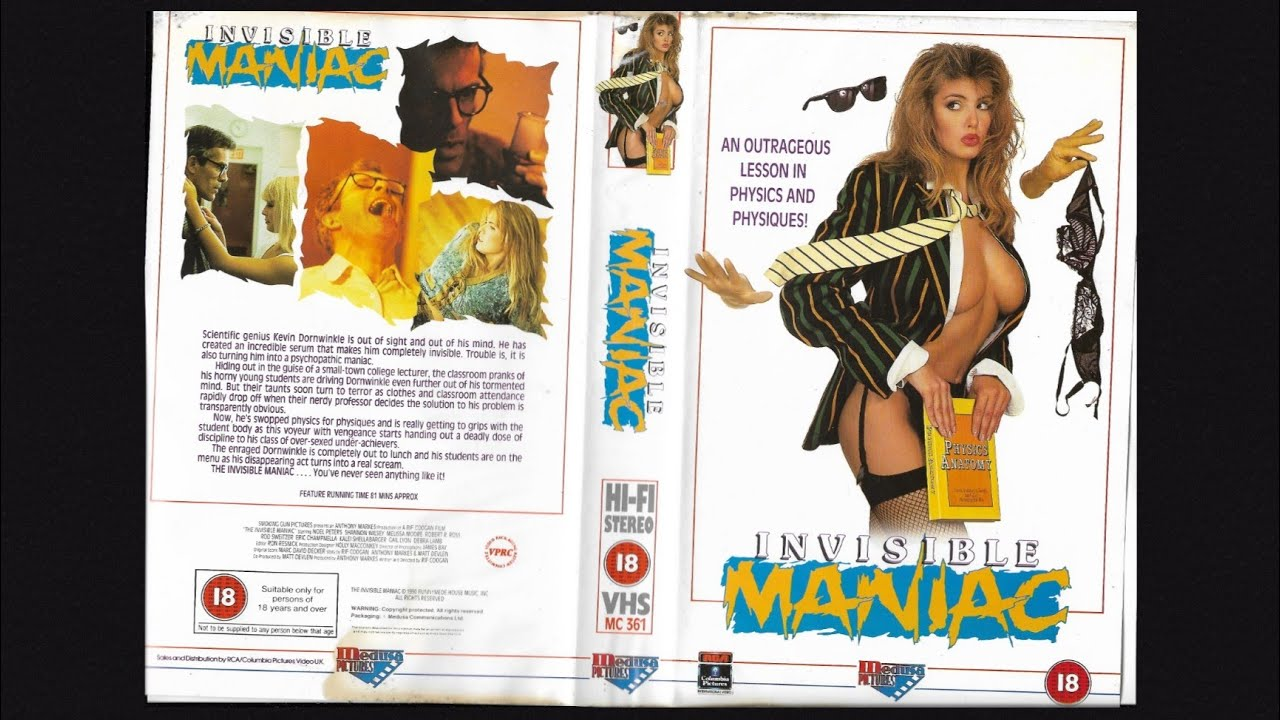 Download The Invisible Maniac (1990)