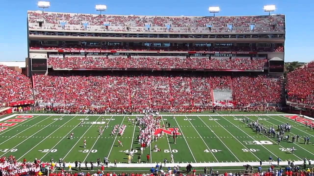 Nebraska Memorial Stadium Lincoln Game Day 9 21 13