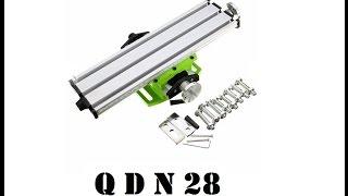 Cyrob : QDN28, Petite table croisée et beaucoup de mécanique...
