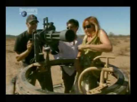 Mythbusters Machine Gun Myth Youtube