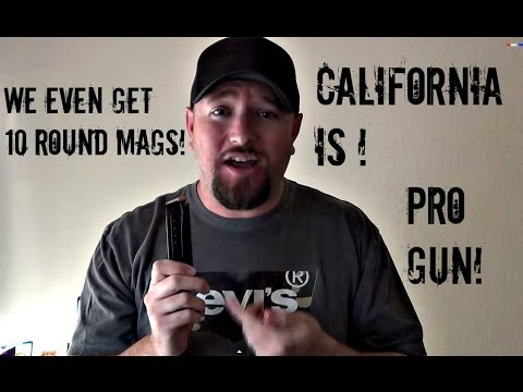 Top 10 reasons California is the best state for guns and the 2nd Amendment!