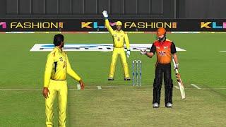 23rd April Chennai Super Kings vs Surisers Hyderabad IPL 12 Real Cricket 2019 full Gameplay