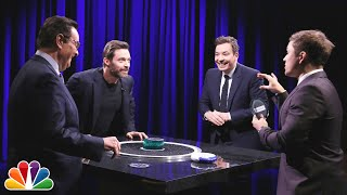Catchphrase with Hugh Jackman and Taron Egerton