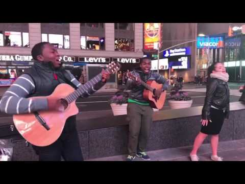 Live Worship in NYC Streets (Full Video) - Called By His Grace & Hailey D