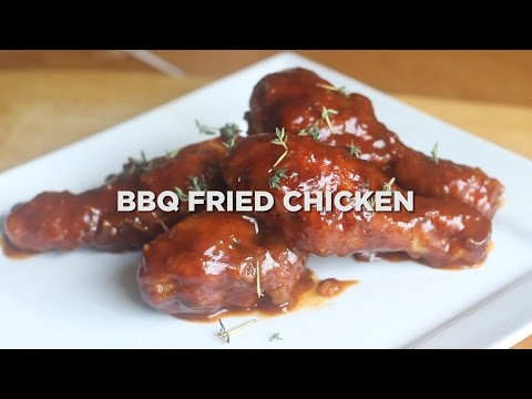 THE ULTIMATE BBQ FRIED CHICKEN MADE EASY!