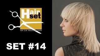 Hair Set 14 коктельная прическа женская стрижка макияж обесцвечивающие препараты GB RU