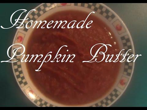Homemade Pumpkin Butter