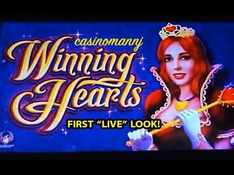 "NEW SLOT! Winning Hearts - First ""LIVE"" Look - Slot Machine Bonus - 동영상"
