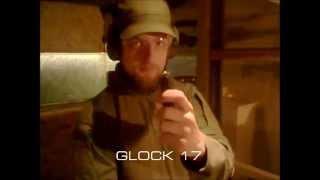 Test R  #01 - Repliki GBB a broń palna (Glock 17 + KJW KP-03)