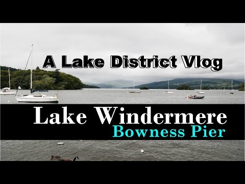 Lake District Bowness on Windermere | UK Travel Vlog
