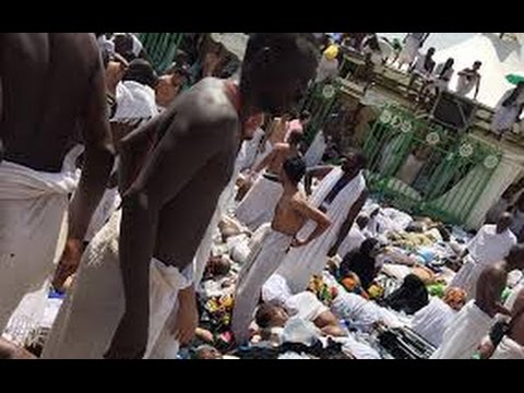 News Footage Hajj stampede in Mecca & Mina, Saudi, Grand Mosque of Islam 2015