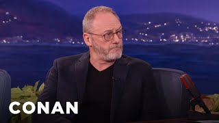 Liam Cunningham: George R.R. Martin Told Me A Game Of Thrones Secret  - CONAN on TBS