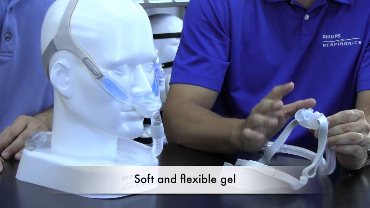 philips respironics nuance gel nasal pillow cpap mask overview