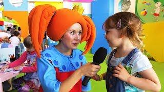 Царевна на Мультимире 2018! Интервьюшки с гостями - Видео для детей