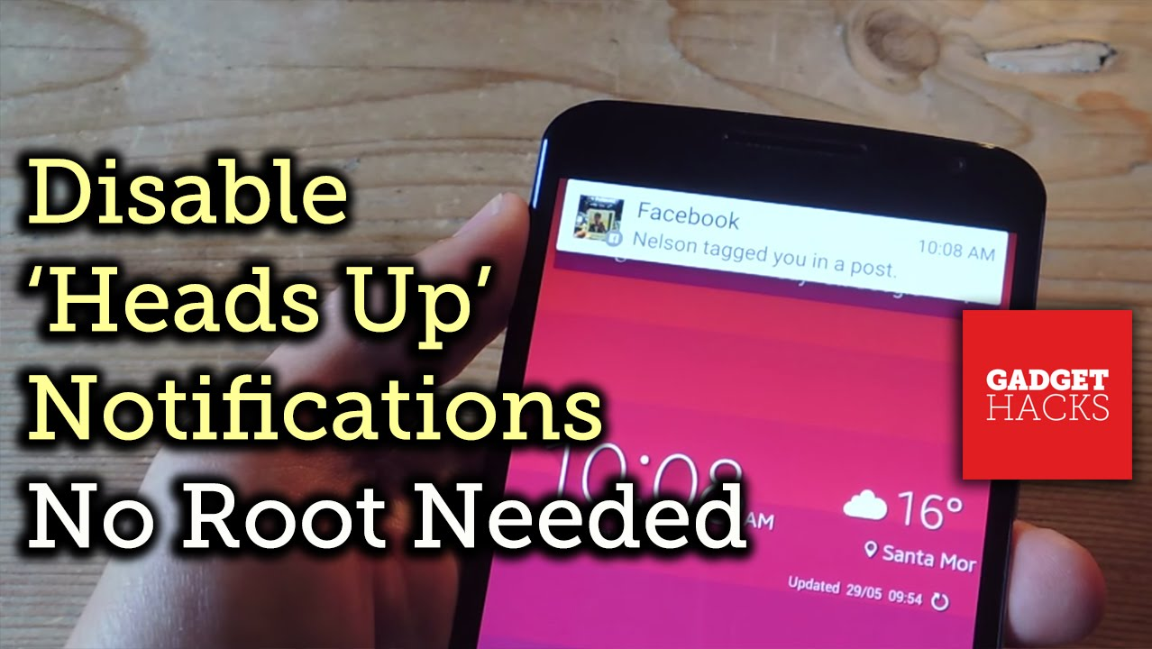 How to Disable Heads-Up (Pop-Up) Notifications in Android Lollipop