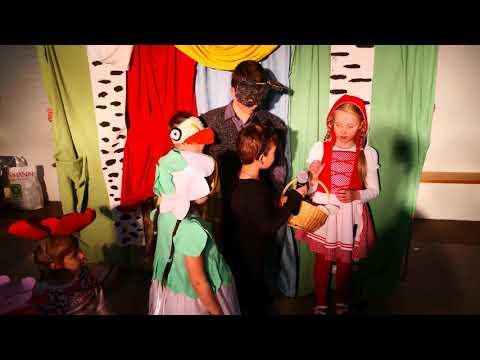 Детский спектакль и концерт на праздник Пасхи Христовой
