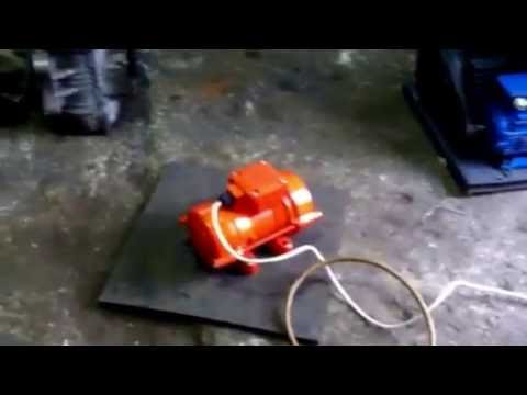 Вибратор площадочный ви-99/е, напряжение 220 в, мощность 1. 1 квт, 2775 об. \мин.