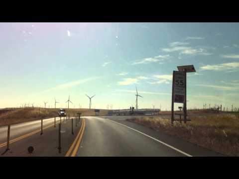 Rio Vista California Wind Turbine Farm 750+ Turbines