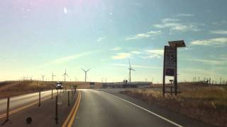 Rio Vista California Wind Turbine Farm