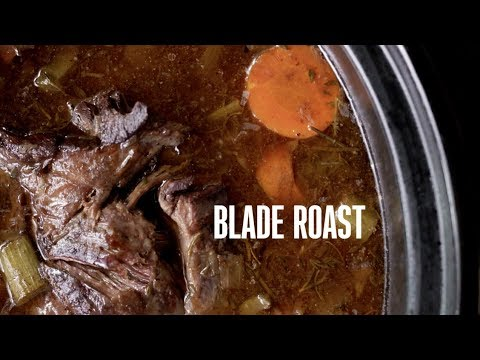Cooking Game: Bone-in Blade Roast With Root Vegetables