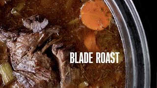 Cooking Game: Bone-in Blade Roast with Root Vegetables Video