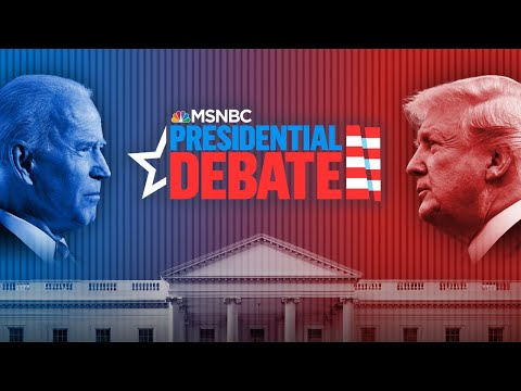 Watch: First Presidential Debate Of The 2020 Election | MSNBC