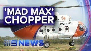 World's biggest water bomber to battle bushfires | Nine News Australia