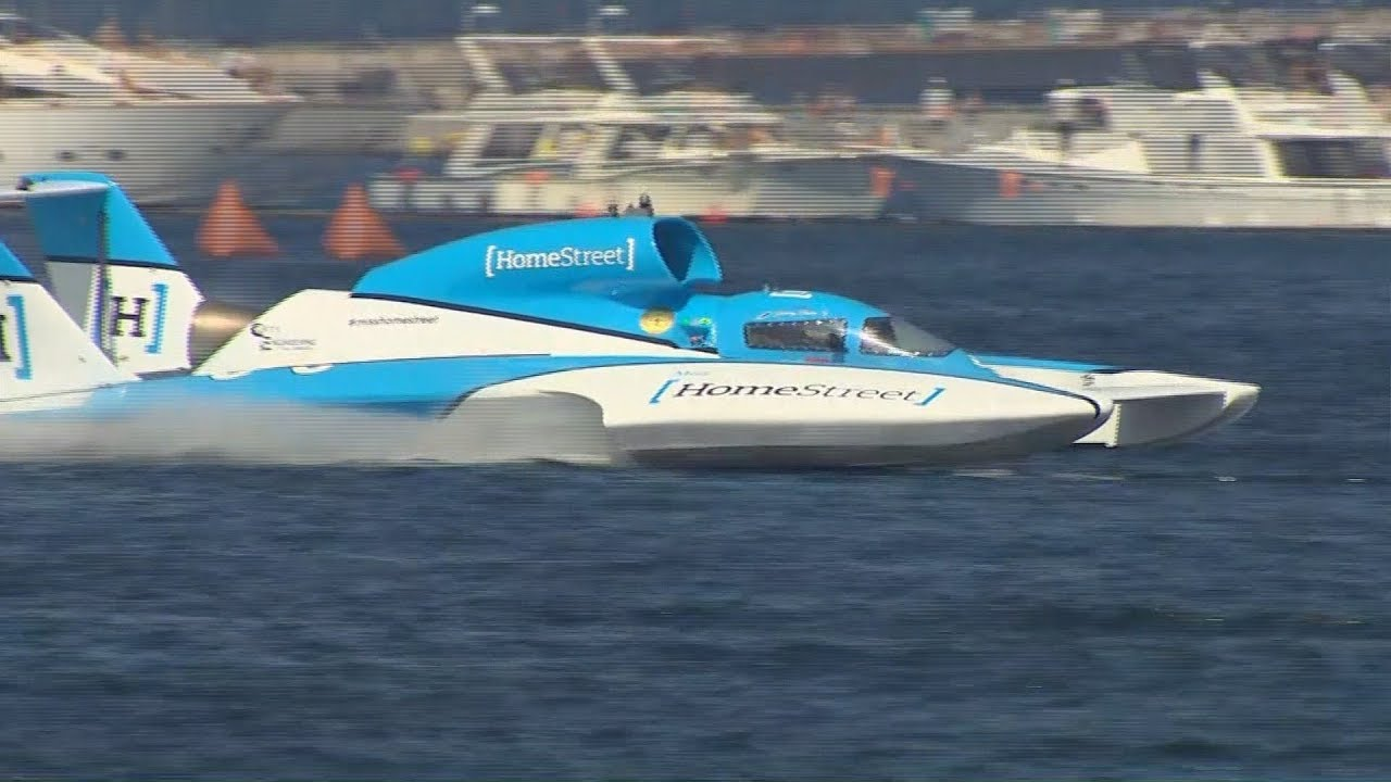 2019 Seafair hydroplane finals in Seattle - YouTube