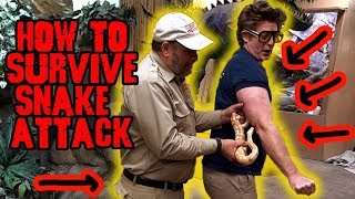 How to Survive a Snake Attack *DON'T TRY THIS AT HOME*
