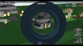ROBLOX Muffin Kombat | .50 BMG Gameplay! :D