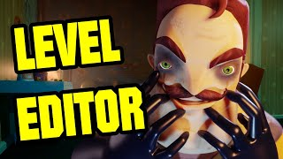 HELLO NEIGHBOR MULTIPLAYER EDITOR | SECRET NEIGHBOR LEVEL EDITOR