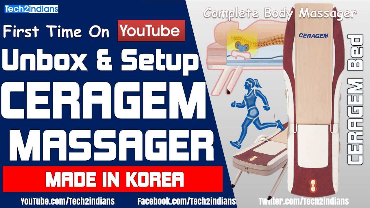 CERAGEM : Body Therapy Machine | Made in KOREA | Unboxing and Setup