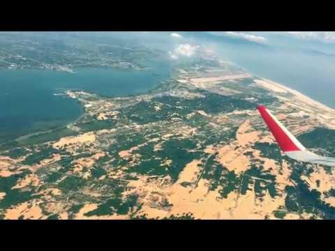 Ngắm vịnh Nha Trang và vịnh Cam Ranh trên máy bay đời mới Airbus A320 VietJet Air