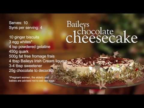Slimming World Baileys Chocolate Cheesecake Recipe 4 Syns