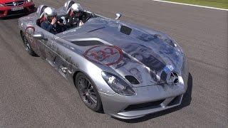 Mercedes Benz SLR McLaren Stirling Moss - PURE Exhaust Notes!
