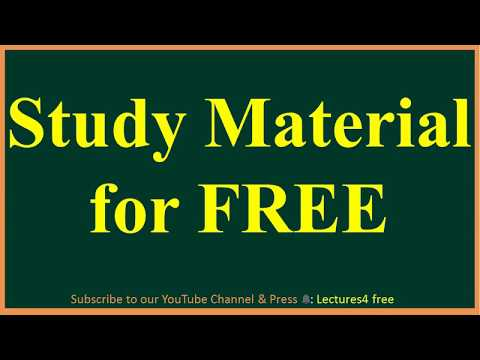 Get All Subject Study Material of ACE Academy ,Handwritten
