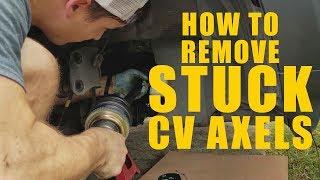 REMOVE STUCK CV AXELS EASY