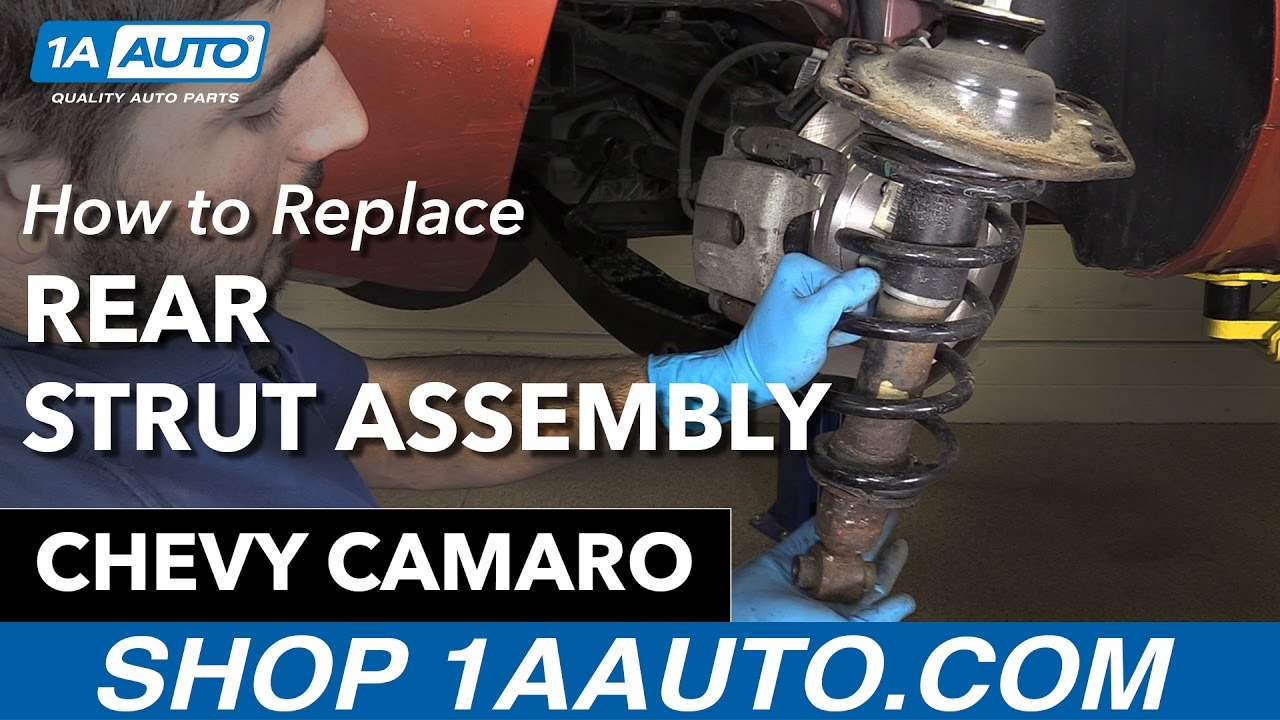 How To Replace Rear Strut Assembly 10-15 Chevy Camaro