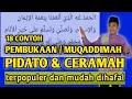 - MUKADIMAH CERAMAH DAN PIDATO TERBAIK & TERPOPULER MUDAH DIHAFAL UNTUK PEMULA