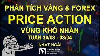 Phân Tích Vàng & Forex Theo Price Action - Vùng Khó Nhằn - Tuần 30/03-03/04