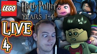 Chrisi und Nils spielen LEGO Harry Potter: Die Jahre 1-4 LIVE 🔴 F4 Das letzte Jahr!