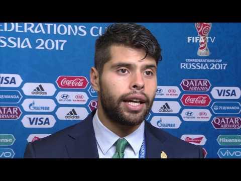 Néstor Araujo - Post-Match Interview - Match 15: Portugal v Mexico - FIFA Confederations Cup 2017