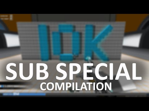 10,000 Sub Special - Funny Compilation And Thanks [Robocraft]
