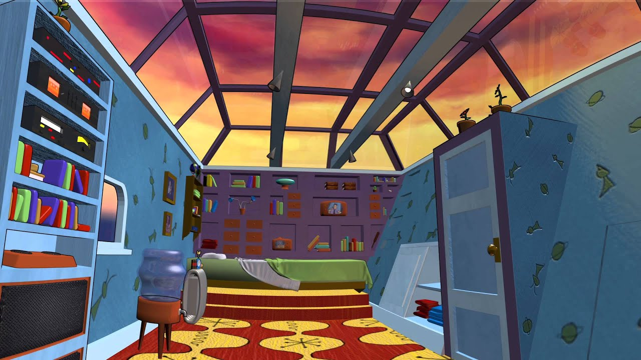 hey arnold 3d bedroom journey youtube