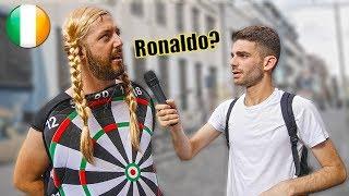 Chi sono i 3 ITALIANI più famosi in IRLANDA ? Domande a Dublino - thepillow